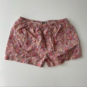 emile et ida floral shorts